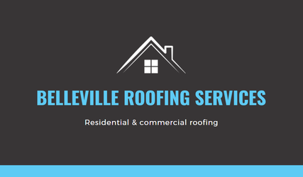 Picture of a Belleville Roofing Services logo.
