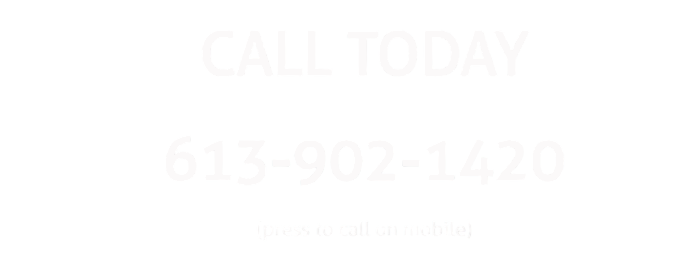 Picture of a contact phone number for roofing services in Belleville.